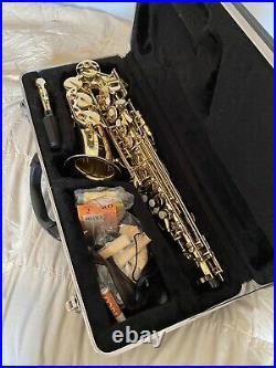 Johnny Roadhouse MkII, Saxophone Alto Sax, Stand, Case, Strap, Reeds, Metronome