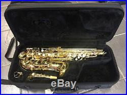 Jupiter JAS-567 Student Alto Saxophone Sax Near Mint