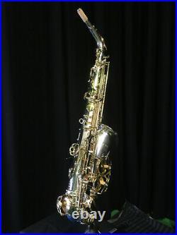 Jupiter Sax JAS869 Saxophone Silver Body Gold Keys
