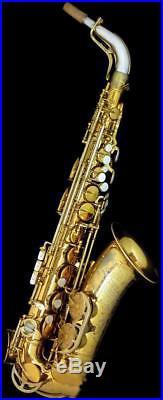 KING Super20 Super 20 Alto Saxophone Sax Used 1950's Vintage Rare Japan