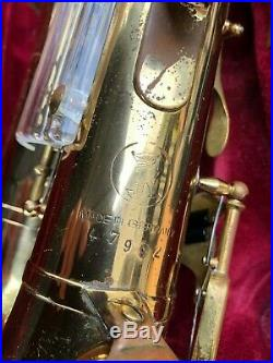 Keilwerth New King Alto Sax Vintage Saxophone German made great PLAYER