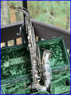 Keilwerth ToneKing Alto Sax Vintage Saxophone German made angel wing PLAYER
