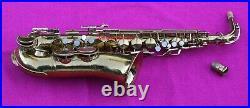 King 1932 Voll-True II Eb Alto Sax, #145k