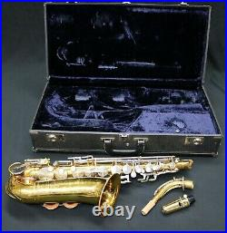 King 613 Alto Sax (Serviced 04/02/20) Good Player Good Solid Student Horn