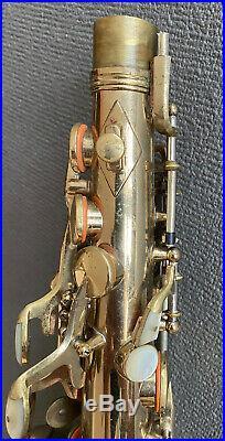 King Super 20 Alto Sax Series II Full Pearls Solid-silver Neck
