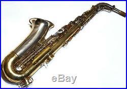 King Super 20 Silversonic Alto Sax Extraordinary Condition & Player- Near MInt