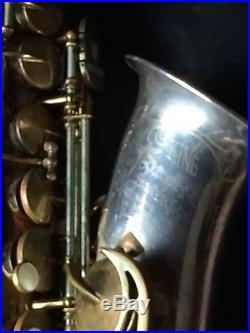 King Super 20 Silversonic Alto Sax- https//youtu. Be/UaFS50lYZmk