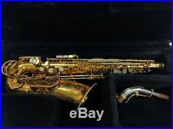 King Super 20 alto sax saxophone Full Pearls, Original Lacquer MONSTER PLAYER