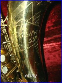 Kohlert 55 Alto Sax Made in Germany