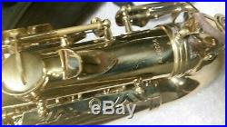 LENTINE'S ALTO SAX with Hard CASE VINTAGE Rare Customized Pearl