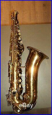 La Monte LaMonte Alto Saxophone With Case Made in Italy C9004 Sax Superior