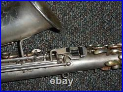 Late/Transitional Buescher True Tone Alto Sax/Saxophone -Plays Great