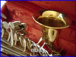 Late Vintage Buescher Aristocrat Alto Sax Original Near Mint