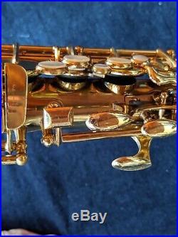 LeBlanc Semi Rationale model 35 alto Sax fresh overhaul