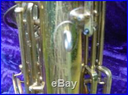 Martin Committee III Alto Sax 1957 with Case Genuine Closet Find Saxophone