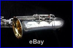 Martin Handcraft Alto Sax Committee I Silver plate withGold washed bell 1938