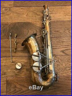 Martin Imperial alto sax body for parts and repair