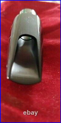 Meyer 6m Alto Sax Mouthpiece, Early Babbit- Good Hard Rubber And Finishing