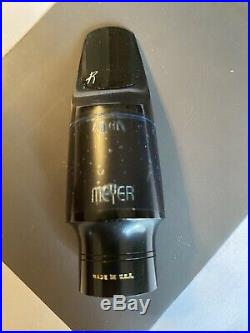 Meyer New York #6M Hard Rubber Alto Sax Mouthpiece 100th Anniversary Model