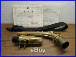 Near Mint YANAGISAWA Alto Sachs ELIMONA 800 Alto Sax Bronze Brass Japan YSYS2
