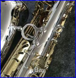 New JUPITER JAS- 1100SG Alto Saxophone Eb Tune Nickel-Plated Sax Alto With Case