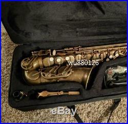 New Mark VI Alto Eb Saxophone Brass Tube E-flat Unique Retro Antique Copper Sax