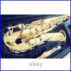 New YAMAHA YAS-280 Gold Lacquer Student Alto saxophones World Wide Shipping