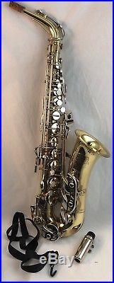 Nice Selmer Bundy II Eb Alto Saxophone Sax