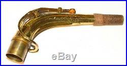 Original Selmer Mark VI alto sax neck
