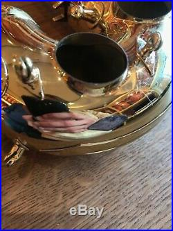 Original Selmer Paris used Serie III alto sax bow and bell