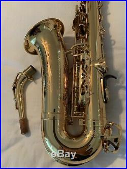 Original Yamaha YAS-62 III Alto Saxophone Sax 62 Neck Near Mint MIJ