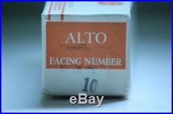 Otto Link Tone Edge 10 Early Babbitt alto sax mouthpiece