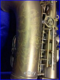 P. Mauriat Alto SAX PMXA-67R DK Plays Beautifully! Rolled Tone Holes