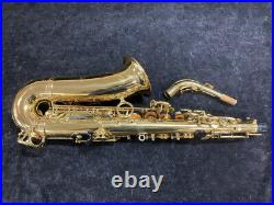 PRISTINE Yanagisawa A990 Gold Lacquer Alto Sax Serial # 00182775