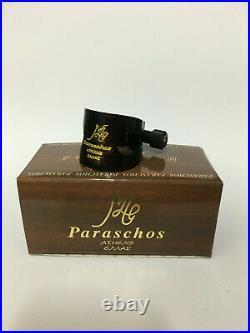 Paraschos sax alto wooden ligature. Free&fast TNT international shipping