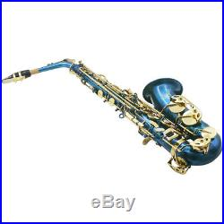 Professional Alto Saxophone Sax Wind Instrument for Band Student Performance