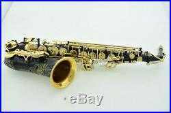 Professional Saxofone 54 Black Nickel Gold Saxophone Alto Eb Sax Mouthpiece