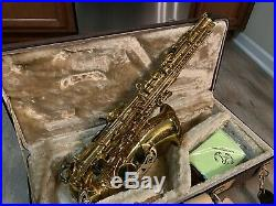 Professional USA Ryton 875 Alto Sax High F# saxophone Germany Mouth +Deluxe Case