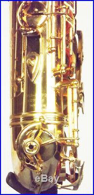 Rare Jupiter JAS-2069 XO Artist Professional Alto Sax Outfit Minor Service