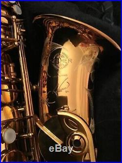 Rare Selmer Alto Saxopnone Reference 54. Beautiful gold colouring. Stunning sax