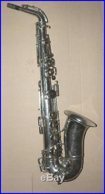Rare Very Old Raymond Dubois Paris Alt/alto Sax / Saxophone, Hard To Find