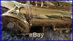 Rare Vintage Noblet Paris 73## Alto Saxophone Sax Vandoren mouthpiece