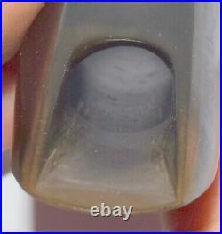 Rare early small font Lamberson 6M alto sax mouthpiece orig 80 tip Free USA Ship