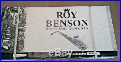 Roy Benson 302 Pro Alto Sax New In Box New Old Stock