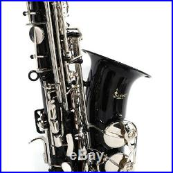 SLADE Mediant Alto Saxophone E Flat For Student Beginner Sax With Case Black