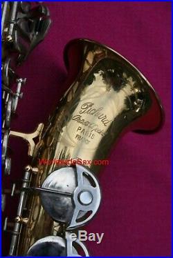 SML 1965 Gold Medal Pichard Alto Sax, #19k WORLDWIDESAX