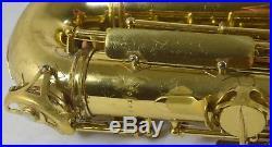 SML King Marigaux Alto Sax 1968 Original Lacquer New Pro Overhaul
