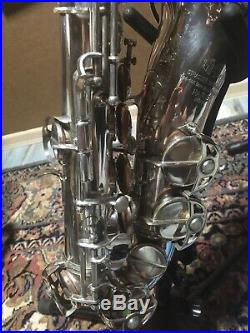 SML Rev D alto sax 1955