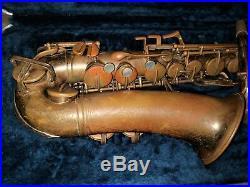 Sax, saxophone alto Buescher Big B del 1949