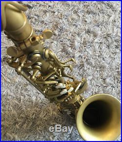 Saxophone, TopTone TT25, Vintage Sax, Original Titanium Keys, Unique Pads & Tone